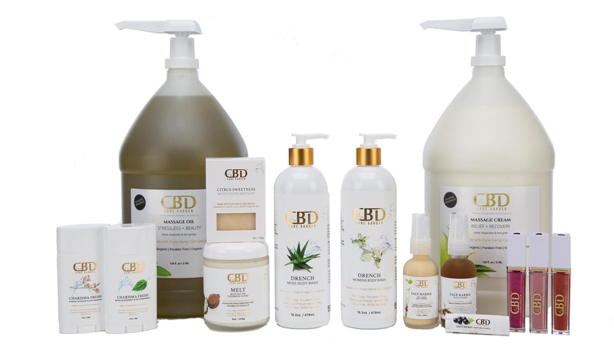CBD Care Garden   Hemp-based wellness & beauty
